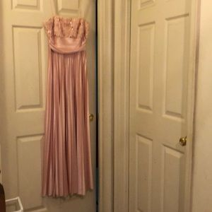 Rose-colored Gown